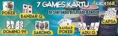TIDAK HANYA BOLA, LIGA168 MENYEDIAKAN 7 GAMES KARTU