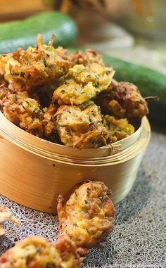 Beignets aux Courgettes sans gluten