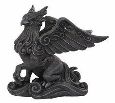 Griffon Statue:  I'd like 2 in pewter as bookends