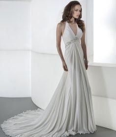 25 Best Halter Top Wedding Dresses Images On Pinterest
