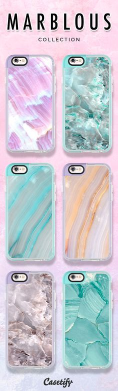 Check out our new Marblous collection! www.casetify.com/... | @Casetify