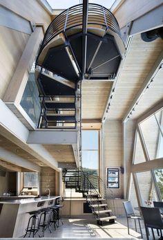 A-Frame Rethink by Bromley Caldari #Architects (2) #interiordesign #realestate