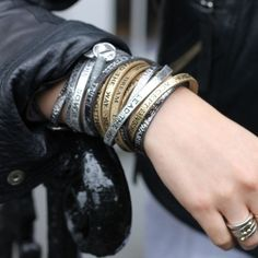 Beautifully styled on @TheMilkZine! #goodworks #leatherbracelets