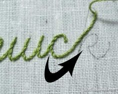 stitching letters tutorial by Maiden11976