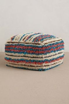 Anthropologie Boucherouite Pouf #AnthroFave