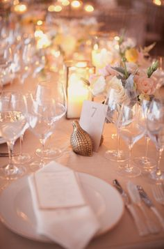 table setting and cloth