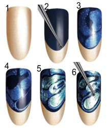 nail stained glass effect spring summer 2012_2