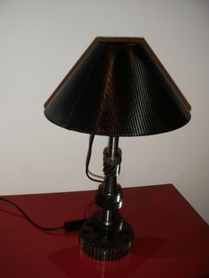 Mój projekt lampy z Recyclingu
