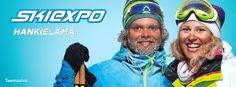 Voita liput Skiexpoon, palkintona 25 kahden hengen lippupakettia! http://www.lumipallo.fi/skiexpo/