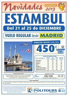 Navidades ESTAMBUL, salida 21/12 desde Madrid (5d/4n) p.f. 600€ ultimo minuto - http://zocotours.com/navidades-estambul-salida-2112-desde-madrid-5d4n-p-f-600e-ultimo-minuto/
