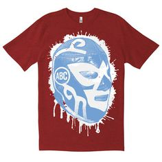 Lucha Libre Tee Melange Red