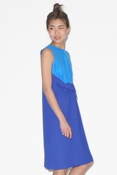 Vladimir Karaleev J Dress Short in Blue