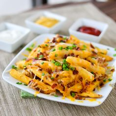 Bacon Cheese Fries