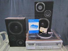 Emerson AM/FM Tape Recorder 8 Track Player M3010