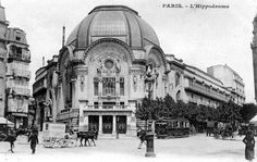Salles de spectacle disparues à Paris 18e: l' hippodrome