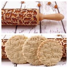 I. Need. This. Cat cookie roller