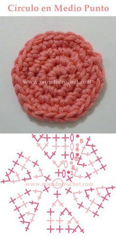 como tejer un circulo perfecto a crochet o ganchillo 12 Mais
