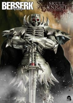 1/6th scale Berserk Skull Knight Figure Pre-Orders Open From Threezero