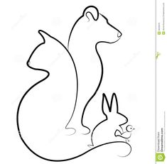 Cat, Dog, Bird And Rabbit Logo Stock Photo - Image: 28236970