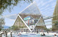 SBA   M Plus     Shigeru  Ban Architects