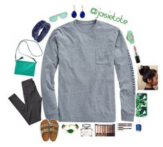 """""""Custom set for Josie"""" by oliviacat1215 ❤ liked on Polyvore featuring Vineyard Vines, Casetify, MAC Cosmetics, H&M, Old Navy, American Eagle Outfitters, BKE, Ray-Ban, Bourbon and Boweties and Pippa"""