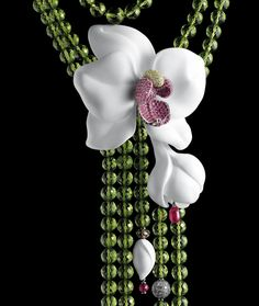 Cartier - Collier Orchidée