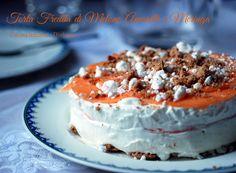 Torta fredda al Melone, Amaretti e Meringa