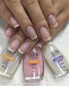 53 ideas for nails art french manicure ongles French Nail Designs, Gel Nail Designs, Nails Design, Simple Pedicure Designs, Gel Nails French, French Polish, French Toes, French Manicures, French Art