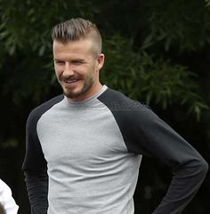 David Beckham's Haircut David Beckham Haircut, David Beckham Style, Celebrity Hairstyles, Hairstyles Haircuts, Cool Hairstyles, Men's Hairstyle, Cool Boys Haircuts, Haircuts For Men, Barbers Cut