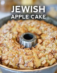 Jewish Apple Cake - One of our favorite apple recipes comes from an old college friend who lives on the east coast. Jewish Apple Cake - One of our favorite apple recipes comes from an old college friend who lives on the east coast. Apple Dessert Recipes, Köstliche Desserts, Baking Recipes, Delicious Desserts, Cooking Apple Recipes, Apple Bundt Cake Recipes, Jewish Apple Cake Recipe Bundt, Pie Recipes, Recipies