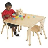 """Found it at Wayfair Supply - 30"""" Square Bentwood Play Table"""