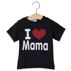 Kids Clothes I Love Papa Mama T-shirt Baby Children Clothing T-shirts for Girls Boys Children Shirt Summer Tshirts Baby T shirt #>=#>=#>=#>=#> Click on the pin to check out discount price, color, size, shipping, etc. Save and like it!