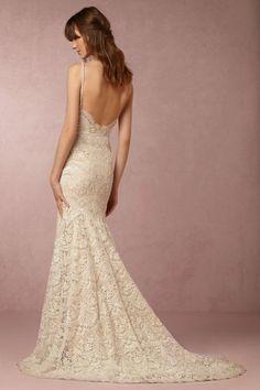 BHLDN Elise Gown in  Bride Wedding Dresses Embellished at BHLDN