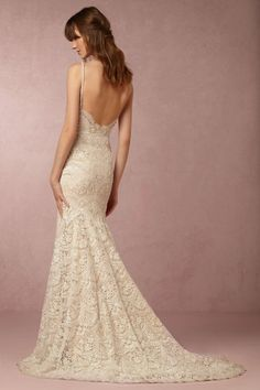 BHLDN Elise Gown in Bride Wedding Dresses at BHLDN