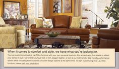 Chapter 10: Competitive Analysis. La-Z-Boy furniture has done a great job with keeping up with the trends. I love this warm living room with yellows and browns it really does make for a homey relaxing environment.
