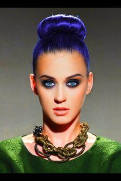 Katy Perry #Makeup #Blue #Eyes #Maquillage #Bleu #Yeux #Soirée #Journée #Night…
