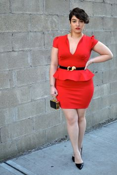 """Embrace different cuts. Peplum sometimes FEELS weird because, it's like, """"hey, why is my shirt ending here?"""" but they LOOK great. Just find the best fit for you. 