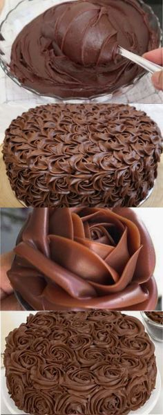 Cake Decorating Frosting, Cake Decorating Tutorials, Plum Cake, Wilton Cakes, Cake Icing, Fake Food, Cupcakes, Sweet Cakes, Creative Cakes