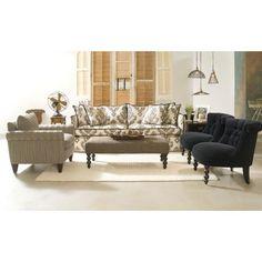 Furniture Configuration Like The Patterned Sofa Cottage Living Rooms Es