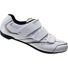 Shimano SHWR32 Ladies white Size 39 Road Bike shoes -- To view further for this item, visit the image link. (This is an affiliate link) #WomensCyclingShoes