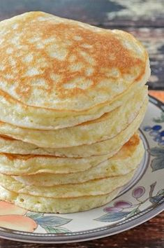 gluten free quick pancakes. *swap out dairy