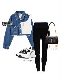 Cute Skirt Outfits, Curvy Outfits, Cute Casual Outfits, Simple Outfits, Stylish Outfits, Polyvore Outfits Casual, Girls Fashion Clothes, Fashion Outfits, Mode Kpop