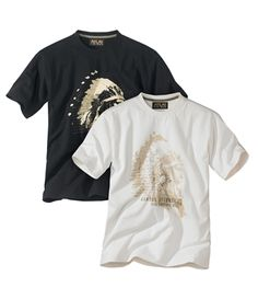 Lot De 2 Tee-Shirts : http://www.atlasformen.fr/products/grandes-tailles/lot-de-2-tee-shirts/9951.aspx