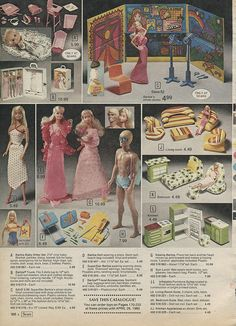 There is all that crazy blow up furniture for Barbie.  1979 Christmas Sears Wishbook