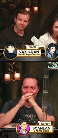 At the end, Scanlan wanted to save Vax, but could not.
