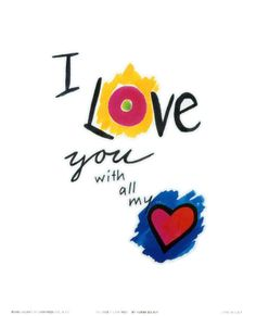 I love you with all my <3