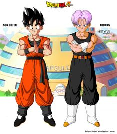 Well, as DBS insists on irritating me with laziness related to Goten and Trunks designs I decided to make the designs of how the two were at the current. Goten e Trunks 14 years DBA Dragon Ball Z, Goten E Trunks, Arte Grunge, Anime Merchandise, Anime Costumes, Star Wars Clone Wars, Manga Comics, Illustrations, Character Design