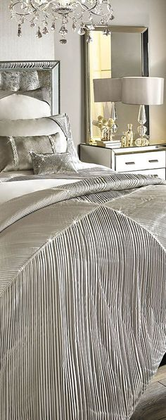 Omara Duvet Cover | Modern Glam Bedroom