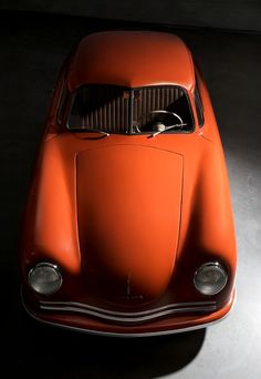 1949 Porsche 356/2 Gmund Coupe | Chassis No. 356/2-045 | That chassis number was the 45th Porsche built | 1.1 L Straight 4 The early 356 automobile bodies produced at Gmund were handcrafted in aluminum | The aluminum bodied cars from that very small company in Gmund are now referred  to as prototypes | Only 25 Coupes were produced