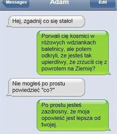 BESTY.pl - Śmieszek w książce Funny Sms, 9gag Funny, Funny Text Messages, Funny Texts, Funny Friday Memes, Friday Humor, Monday Memes, Accounting Humor, Polish Memes